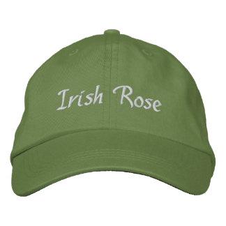 Irish Rose Embroidered Embroidered Baseball Cap