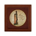 Irish Rose Harp Gift Box