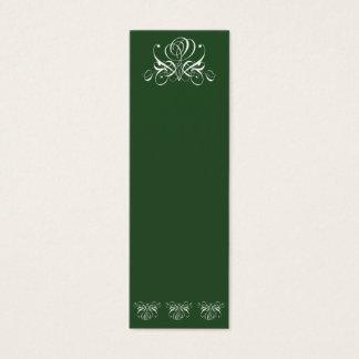 Irish Rose Mini-Bookmark Mini Business Card