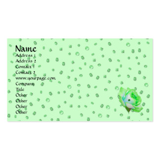 Irish Rose template Double-Sided Standard Business Cards (Pack Of 100)
