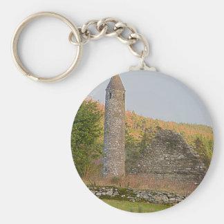 Irish Round Towers over 1,000 years old Keychain