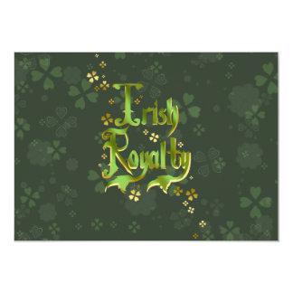Irish Royalty Card