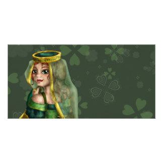 Irish Royalty Customized Photo Card