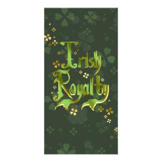 Irish Royalty Photo Card Template