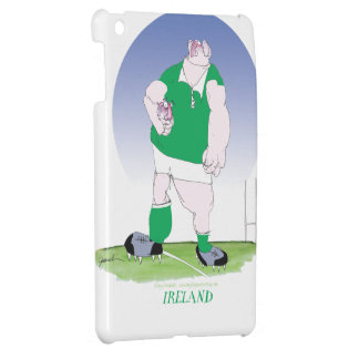 irish rugby player, tony fernandes iPad mini case
