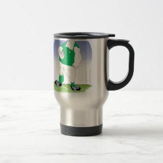 irish rugby player, tony fernandes coffee mug