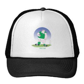 irish rugby player, tony fernandes trucker hat
