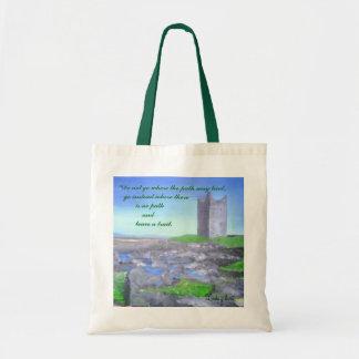 Irish Ruin, Linda gilbert Tote Bag