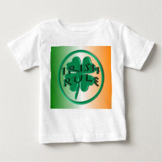 Irish Rule - Ireland Colors and Shamrock Baby T-Shirt