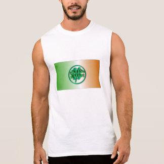 Irish Rule - Ireland Colors and Shamrock Sleeveless Shirt