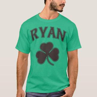 Irish Ryan Family Heritage Shamrock T-Shirt