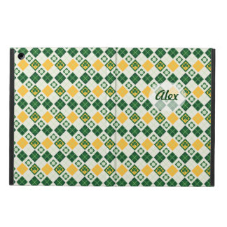 Irish Saint Patrick's Day pattern iPad Air Case