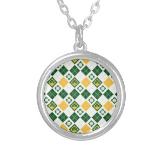 Irish Saint Patrick's Day pattern Custom Necklace