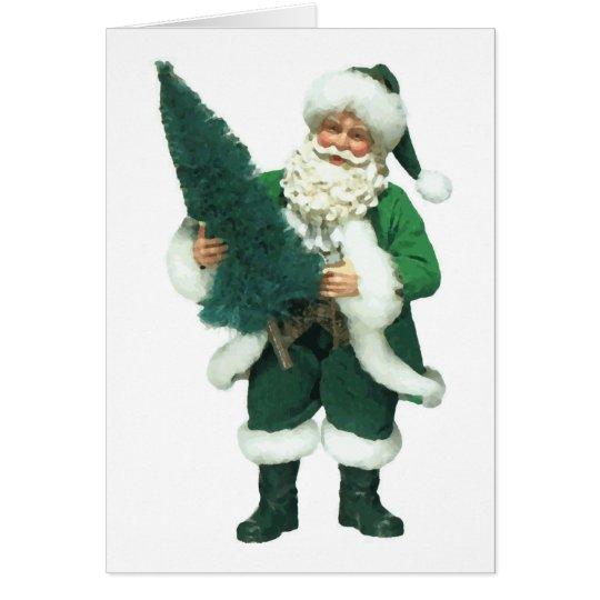 Irish Santa Card