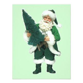 Irish Santa Custom Invites
