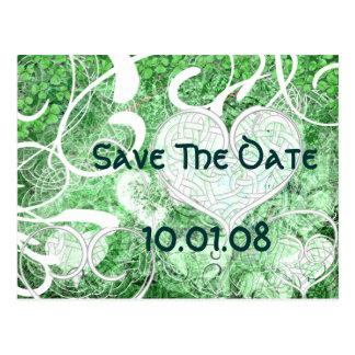 Irish Save the Date Postcard