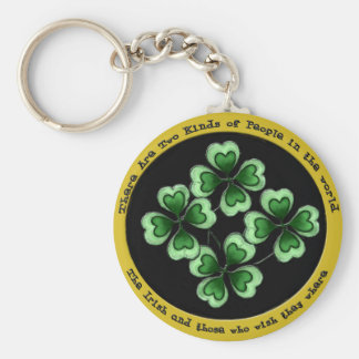 Irish Saying Basic Round Button Keychain