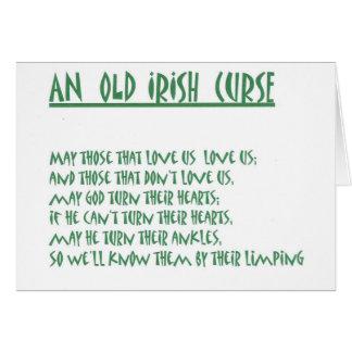 Irish Saying Cards