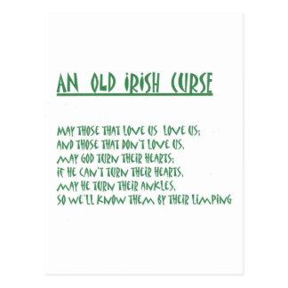 Irish Saying Post Cards