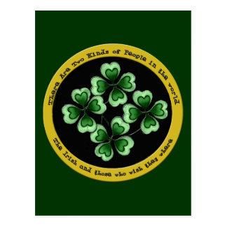 Irish Saying Postcard