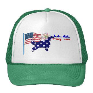 Irish Setter 4to del gorra de julio
