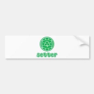 Irish Setter Alternate Design Bumper Sticker