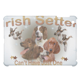 Irish Setter Can't Have Just One IPAD CASE