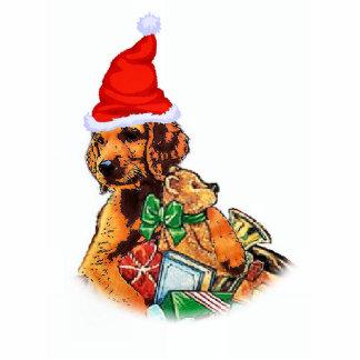 Irish Setter Christmas Gifts Ornament Photo Cut Outs