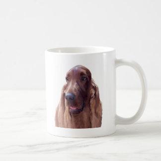 Irish Setter Classic White Coffee Mug