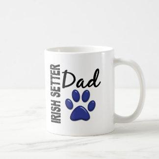 Irish Setter Dad 2 Classic White Coffee Mug