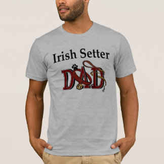 Irish Setter Dad Apparel T-Shirt