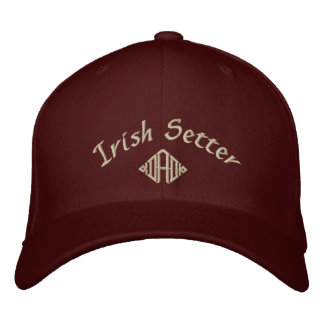 Irish Setter Dad Gifts Embroidered Baseball Cap