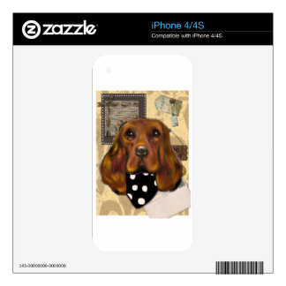 IRISH SETTER DECAL FOR iPhone 4S