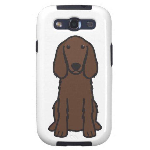 Irish Setter Dog Cartoon Galaxy S3 Case