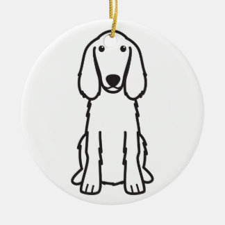 Irish Setter Dog Cartoon Ornament