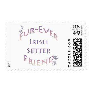 Irish Setter Furever Stamp
