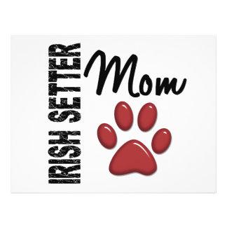 Irish Setter Mom 2 Flyer Design