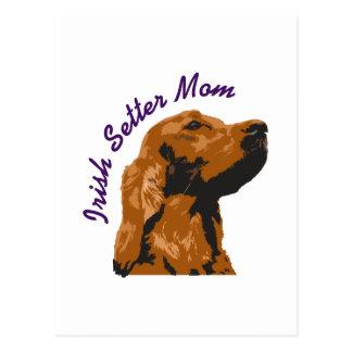 IRISH SETTER MOM POST CARDS