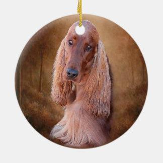 Irish Setter Ornaments