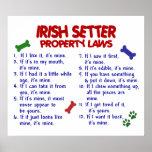 IRISH SETTER PL2 POSTERS