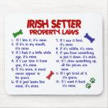 IRISH SETTER Property Laws 2 Mouse Pads