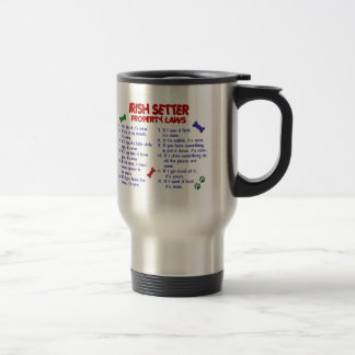 IRISH SETTER Property Laws 2 Travel Mug