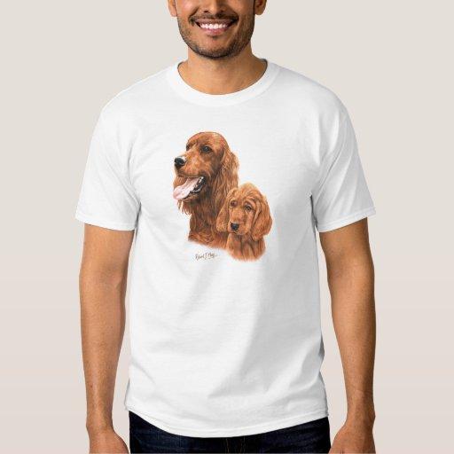 Irish Setter & Pup T-shirts