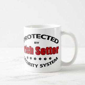 Irish Setter Security Classic White Coffee Mug