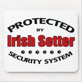 Irish Setter Security Mouse Mat