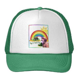 Irish Setter St. Patrick's Day Wishes Trucker Hat