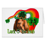 Irish Setter St. Patricks Greeting Card