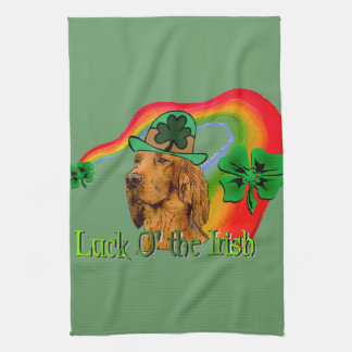 Irish Setter St Patricks Towel