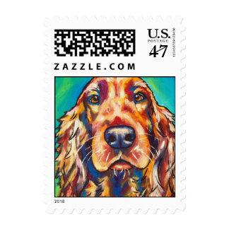 Irish Setter Stamp