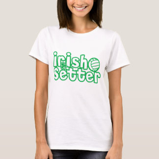 Irish Setter Volleyball Design T-Shirt